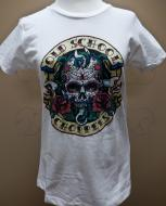 Women's Day of the Dead Tee - White