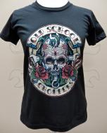 Women's Day of the Dead Tee - Black