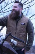 Waxed Chopper Vest